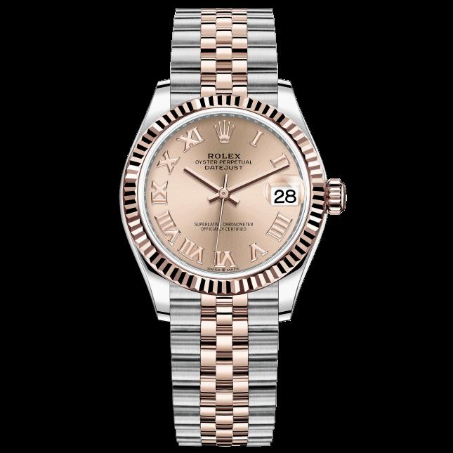 Rolex Datejust 31 278271 Mặt Số Hồng Cọc Số La Mã
