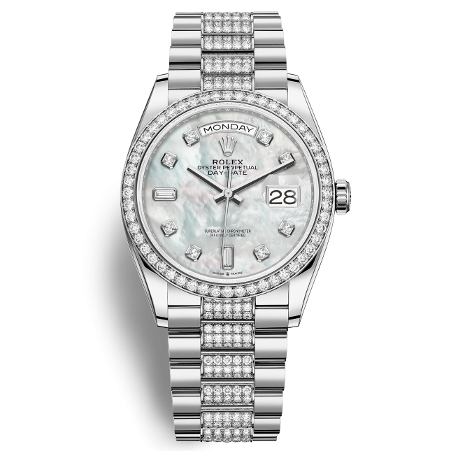 Rolex Oyster Perpetual Day-Date 36-128349rbr-0014