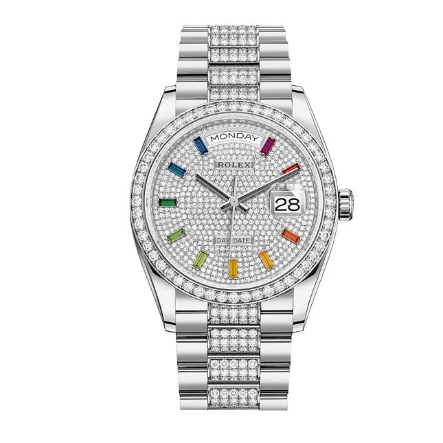 Rolex Oyster Perpetual Day-Date 36-128349rbr-0012