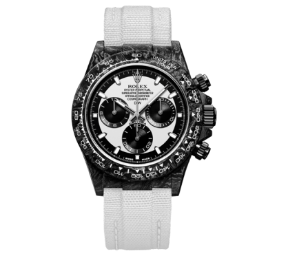 Rolex DiW Daytona Forged Carbon Cream 40mm