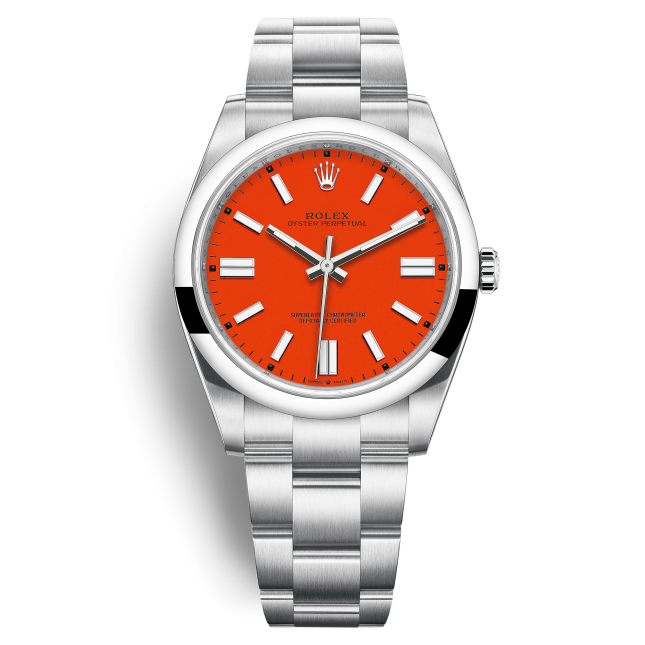Rolex Oyster Perpetual 41 124300-0007