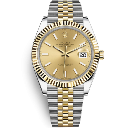 Rolex Datejust Oystersteel and yellow gold 126333 41mm