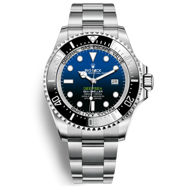 Rolex Deepsea 126660 Mặt Số D-Blue