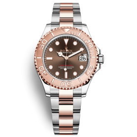 Rolex Yacht Master 268621 Mặt Số Nâu