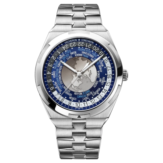 Vacheron Constantin Overseas world time 43.5mm
