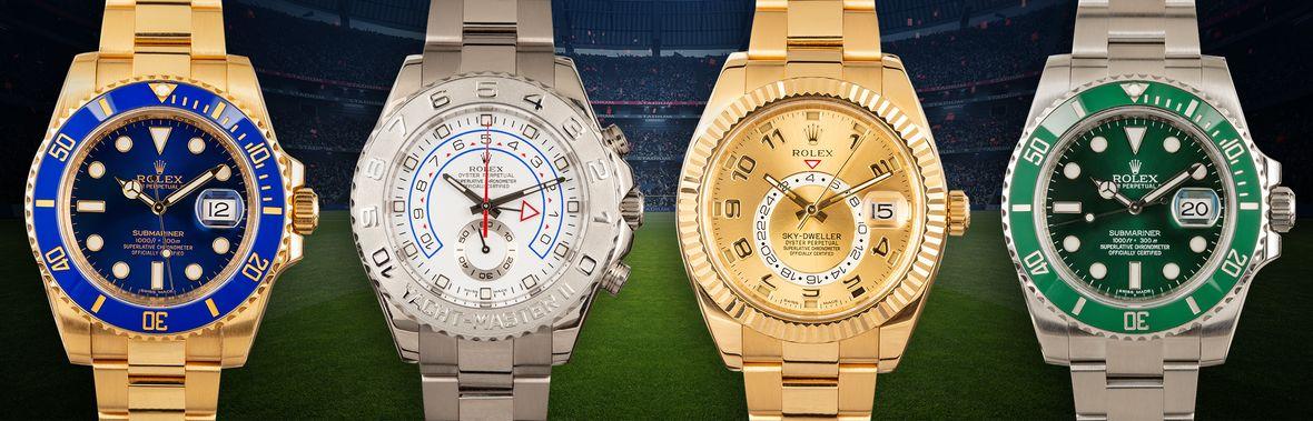 Các cầu thủ bóng đá nổi tiếng sở hữu mẫu đồng hồ Rolex nào?