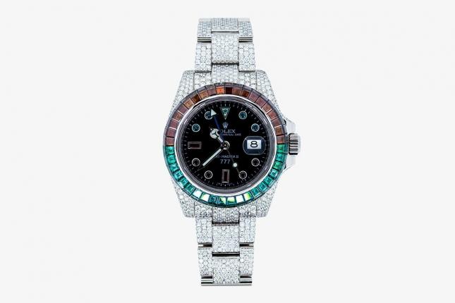 Mãn nhãn trước đồng hồ Rolex GMT-Master II 'Ice Cold Pepsi' 'độ' giá hơn 153.000 USD
