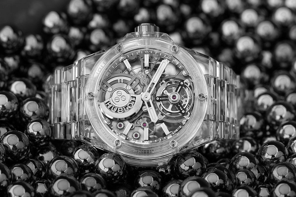 4 Mẫu đồng hồ mới có thiết kế vỏ Sapphire trong suốt độc đáo