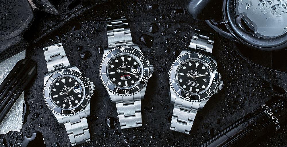 Đôi nét về những dòng đồng hồ lặn của Rolex