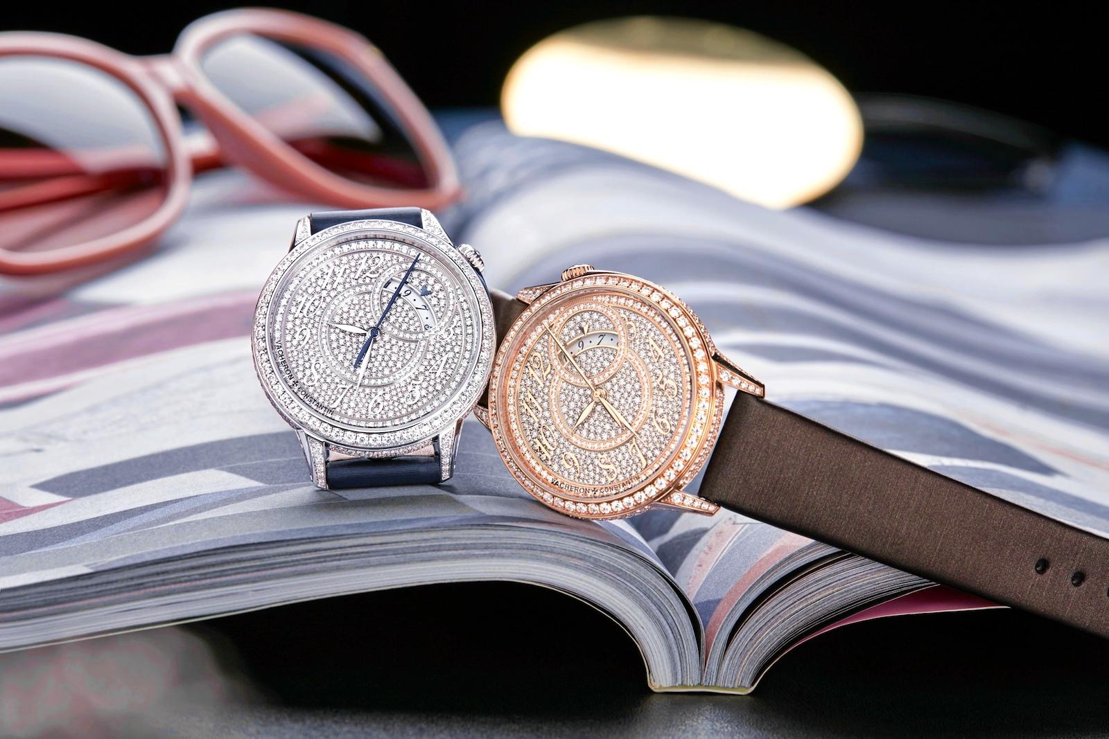 Điểm danh những mẫu đồng hồ đính kim cương cao cấp 2021