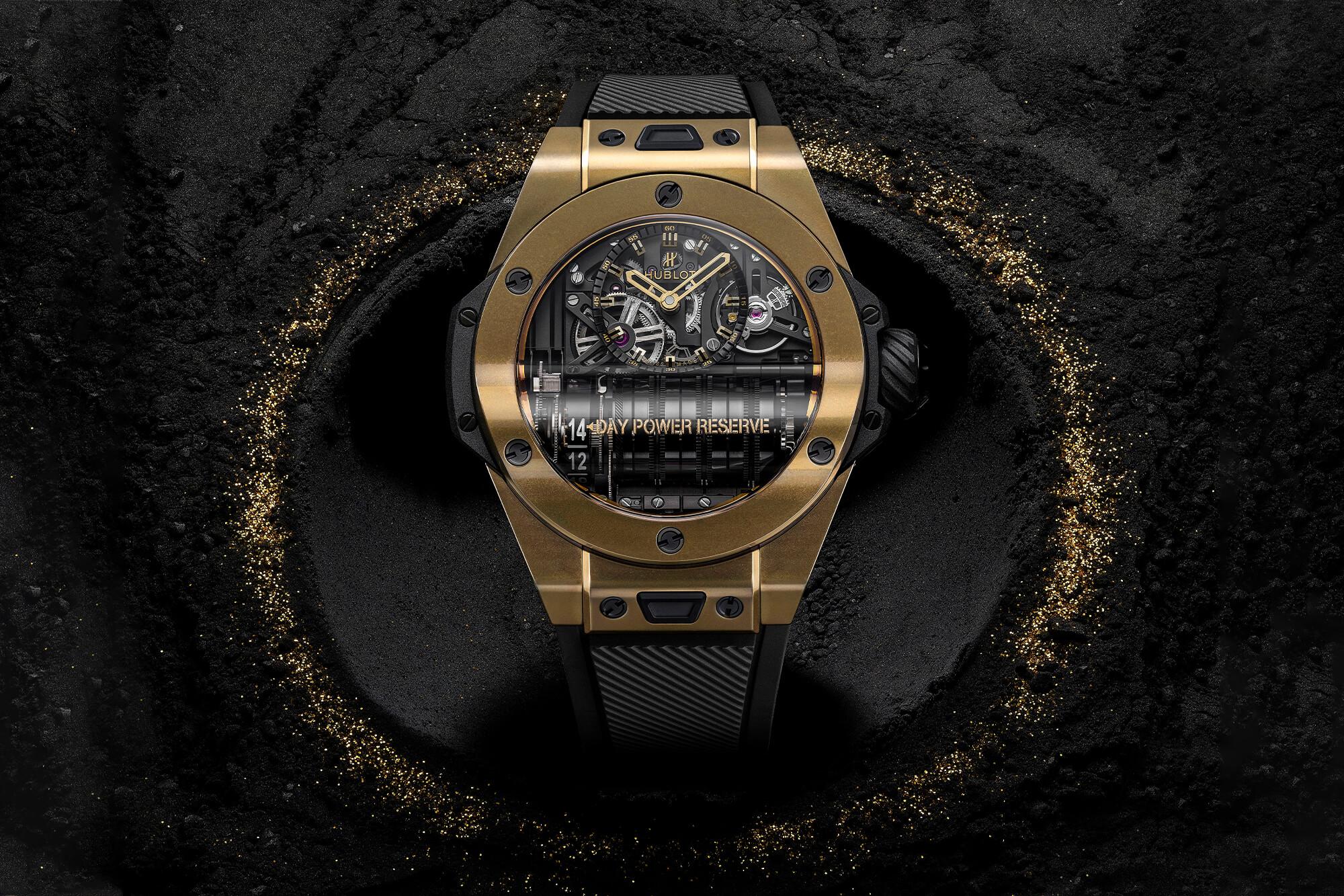 Ngắm nhìn những chiếc đồng hồ sang trọng được làm bằng kim loại quý