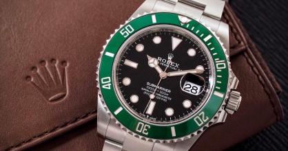Đồng hồ Rolex xanh lá: Sự lựa chọn nâng tầm cá tính quý ông