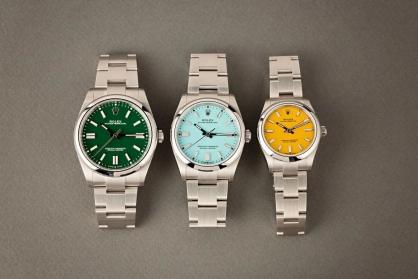 Gợi ý những mẫu đồng hồ Rolexđầy màu sắc cho mùa hè sôi động