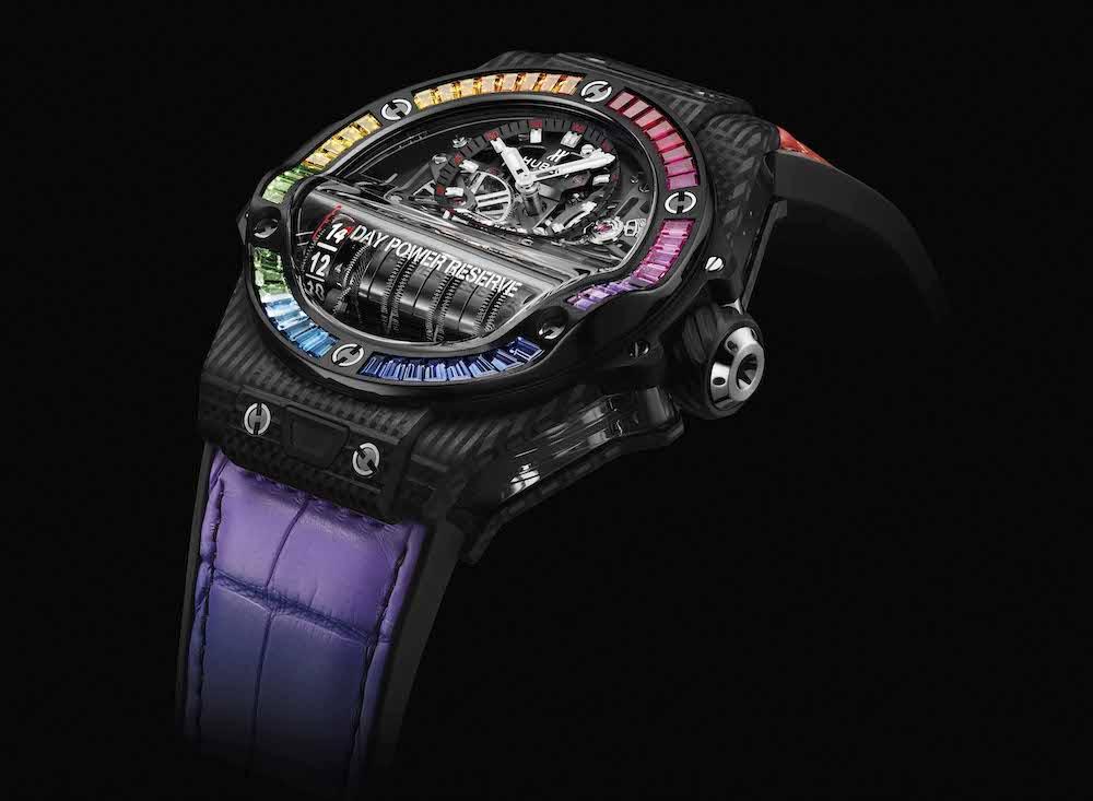 Chiêm ngưỡng những chiếc đồng hồ Hublot cầu vồng ấn tượng ra mắt năm 2021