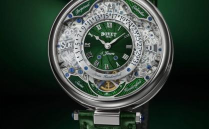 Những mẫu đồng hồ màu xanh lá cây và xanh dương bắt mắt dành cho quý ông