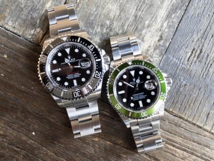 So sánh sự khác biệt giữa 2 đồng hồ Rolex Submariner và Rolex Sea-Dweller