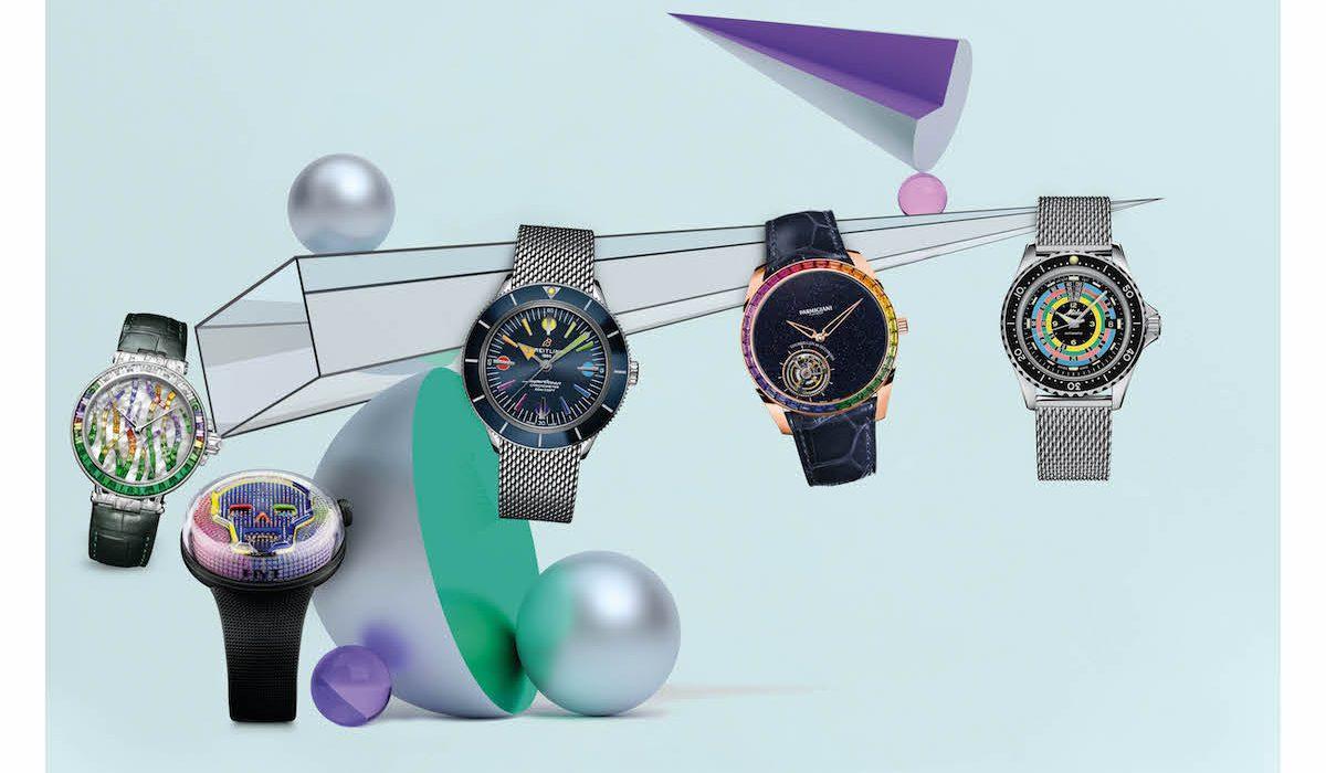 Xu hướng đồng hồ 2020: Đồng hồ cầu vồng độc đáo và mới lạ