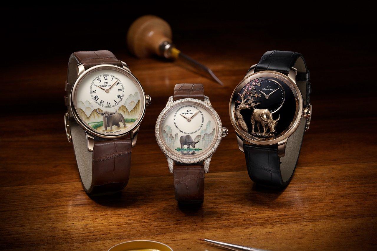 Điểm qua những mẫu đồng hồ chào mừng năm Tân Sửu 2021