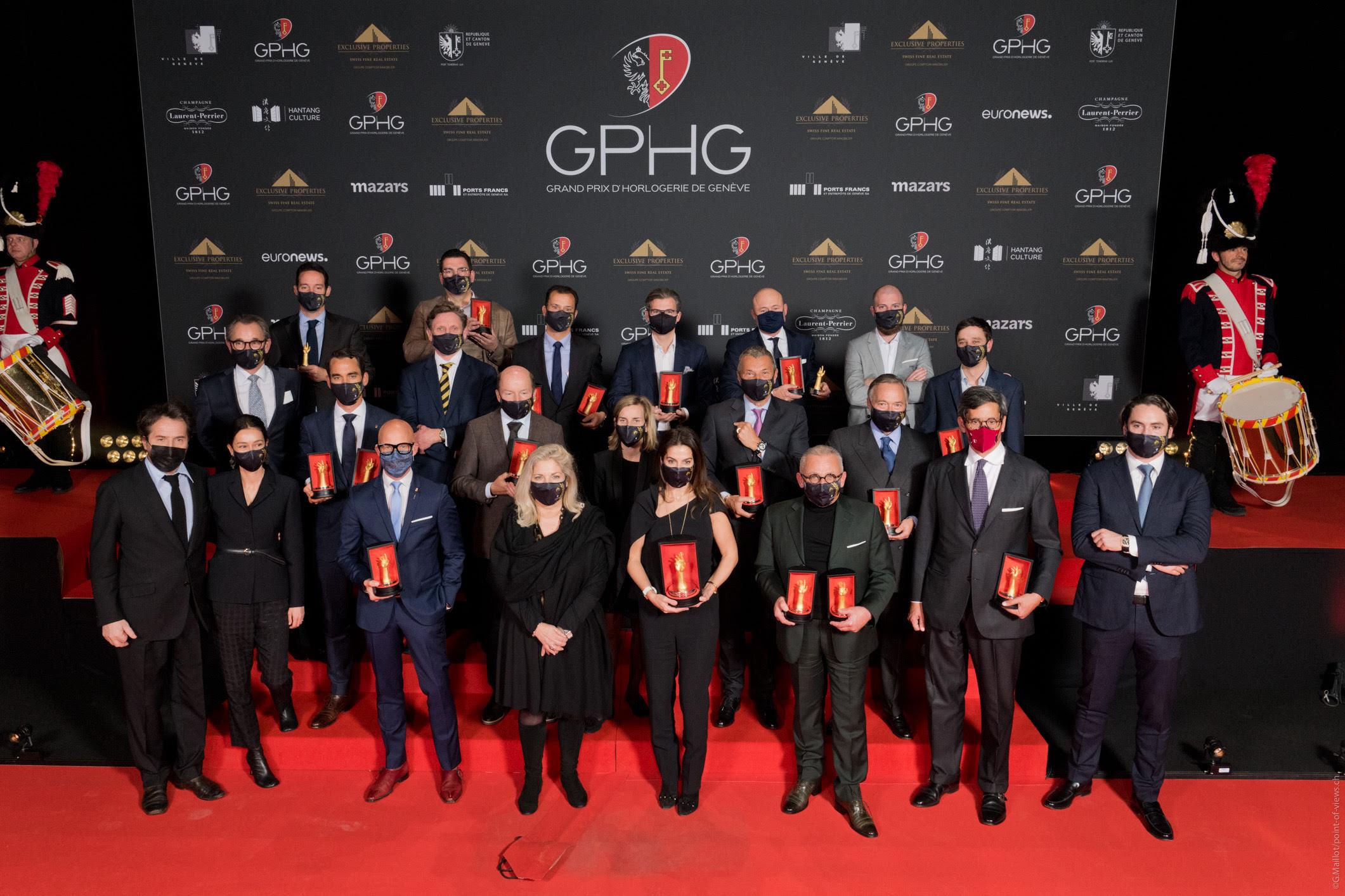 Chiêm ngưỡng những tuyệt phẩm được xướng tên tại giải Oscar đồng hồ - GPHG 2020