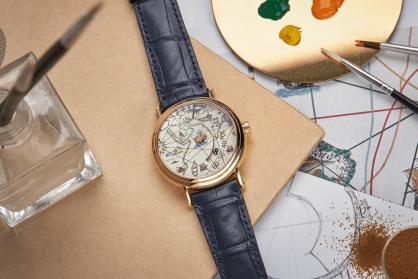 Chiêm ngưỡng 6 mẫu đồng hồ tựa những tác phẩm nghệ thuật trên cổ tay