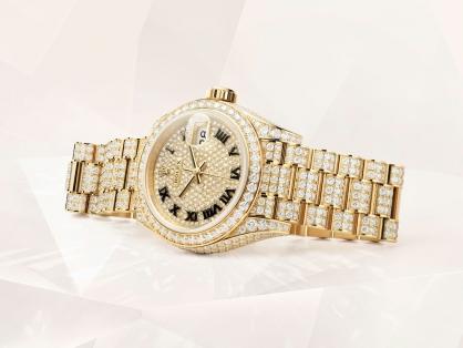 Khám phá vẻ đẹp lộng lẫy khó cưỡng của 4 mẫu đồng hồ Rolex đính kim cương