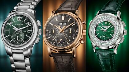 Chiêm ngưỡng 3 mẫu đồng hồ Chronograph mới tuyệt đẹp của Patek Philippe