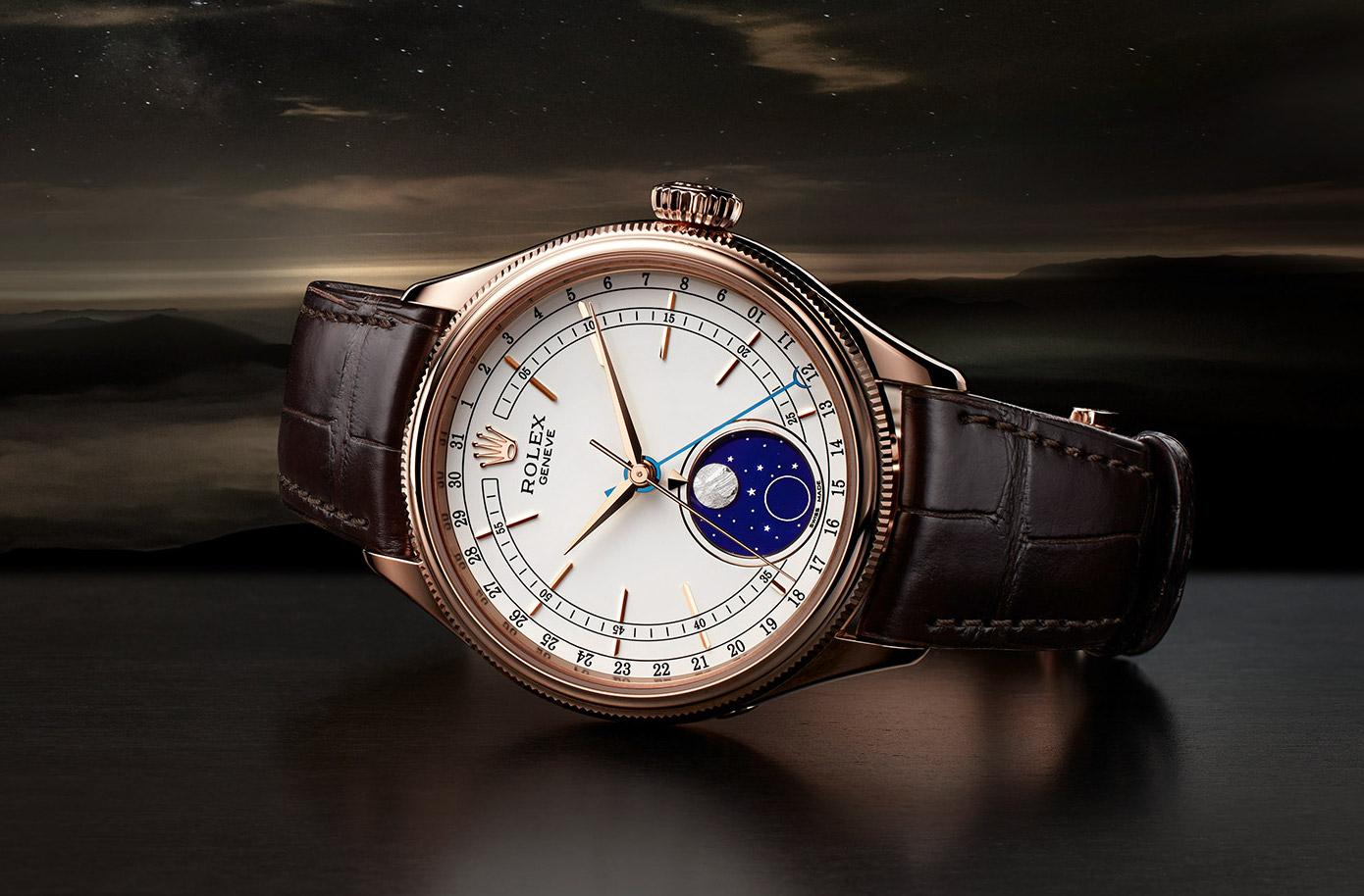 Khám phá vẻ đẹp hấp dẫn của đồng hồ Rolex Cellini Moonphase