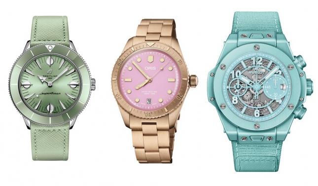 Điểm danh những mẫu đồng hồ màu pastel đang được ưa chuộng hiện nay