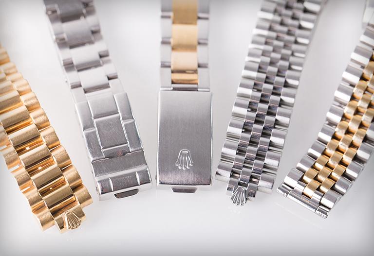 Tất tần tật về các kiểu dây đeo đồng hồ Rolex hiện nay