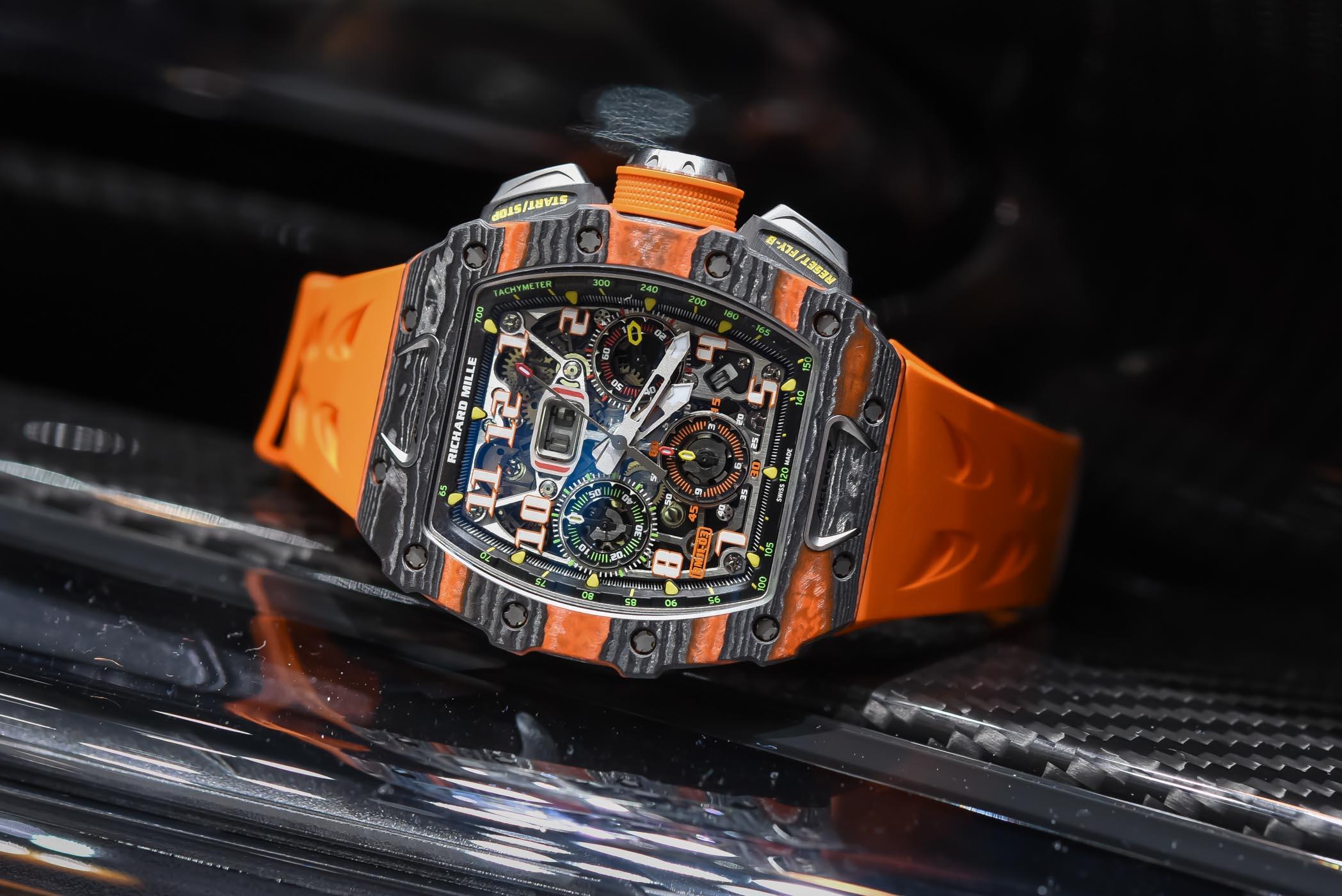 Top 10 đồng hồ Richard Mille đắt nhất hiện nay