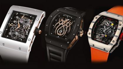 5 Mẫu đồng hồ Tourbillon ấn tượng nhất của Richard Mille