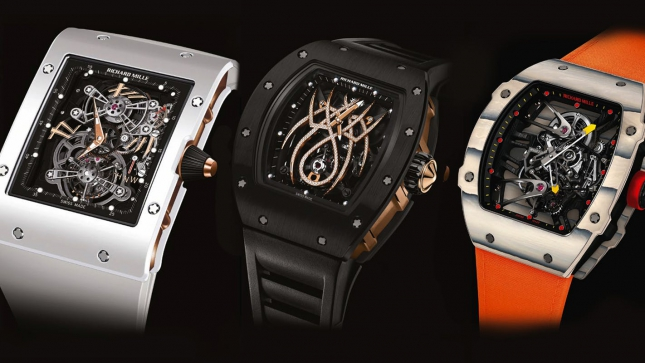 5 Mẫu đồng hồ Tourbillons ấn tượng nhất của Richard Mille