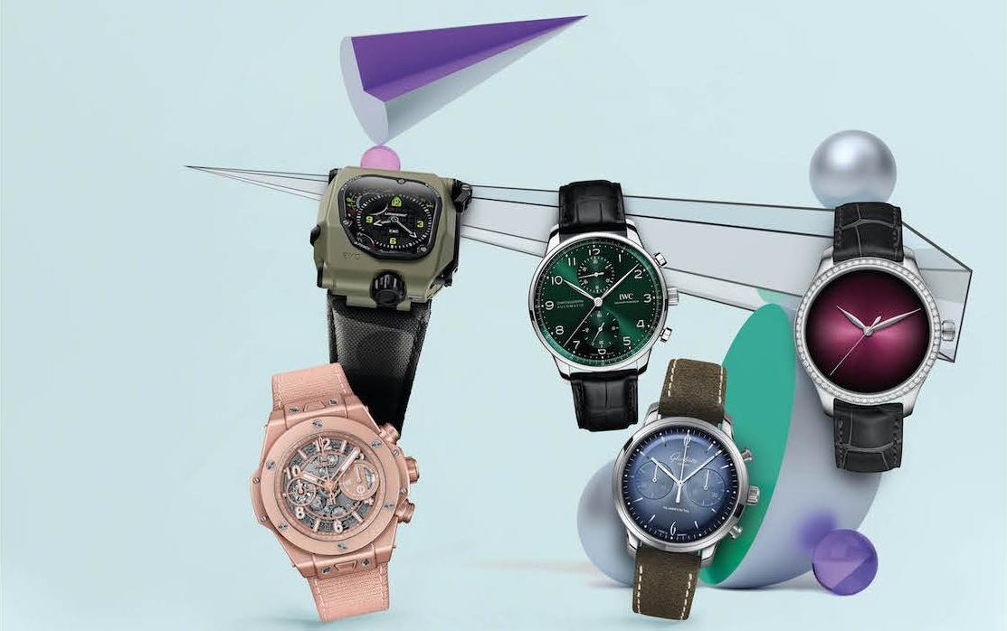 Khám phá những gam màu tươi sắc mới của ngành đồng hồ