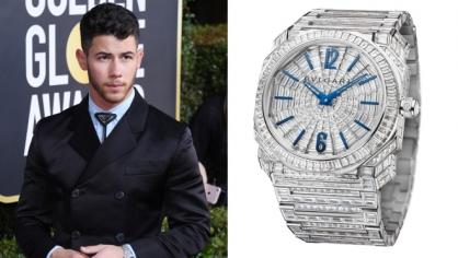 Những chiếc đồng hồ ấn tượng xuất hiện tại Lễ trao giải Quả cầu vàng lần thứ 77