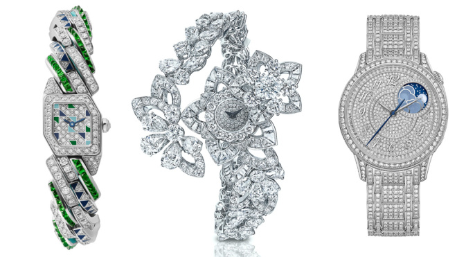 Top 5 đồng hồ trang sức lộng lẫy nhất vừa ra mắt năm 2020