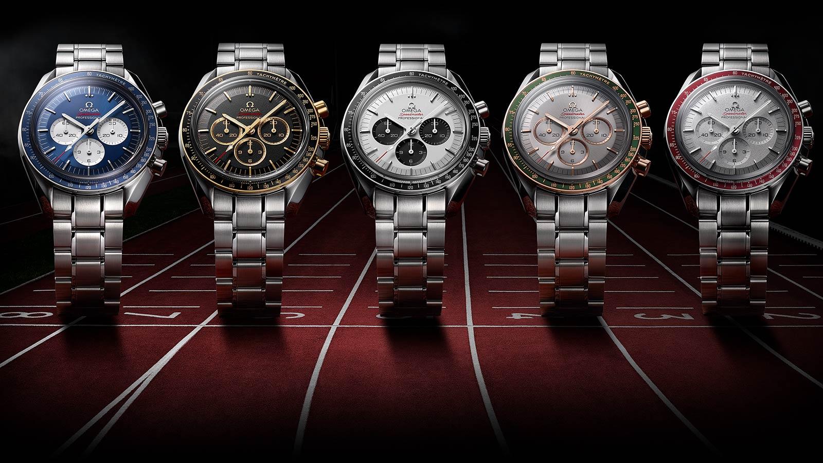 Khám phá những mẫu đồng hồ được chế tác hưởng ứng Thế vận hội Olympic