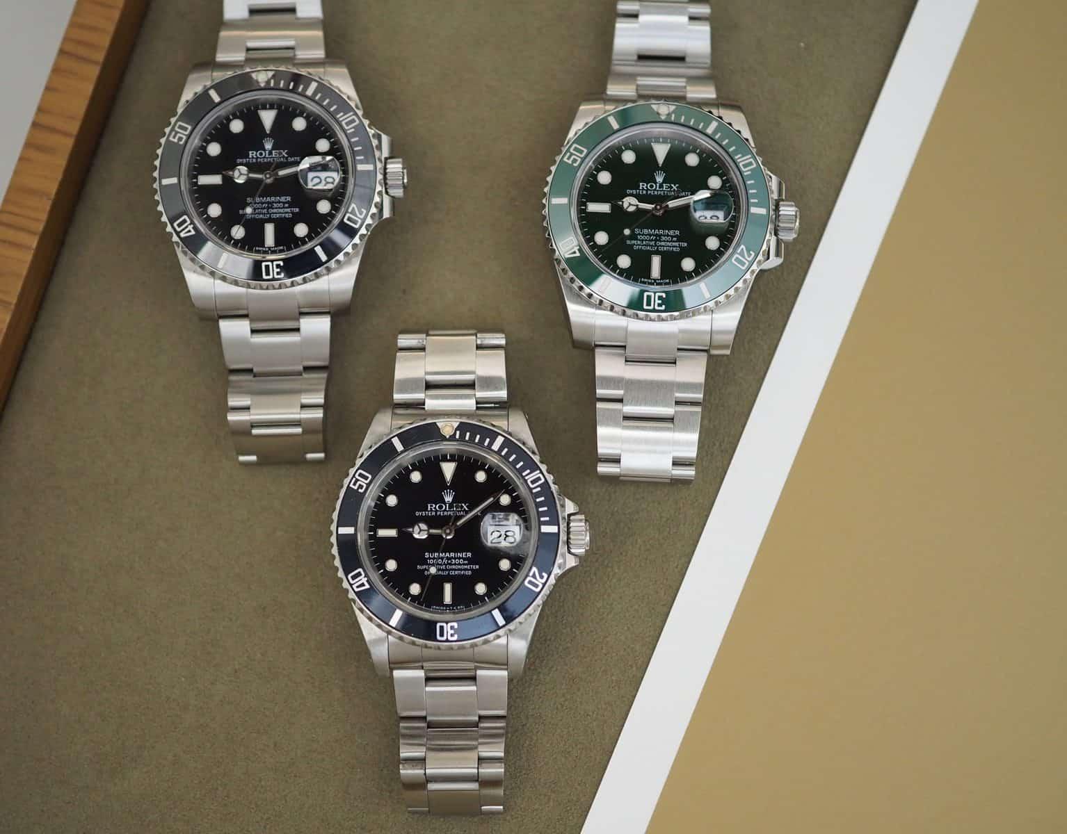 Cách nhận biết đồng hồ Rolex Submariner chính hãng chi tiết nhất
