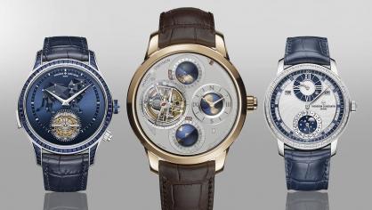 Khám phá 3 siêu phẩm đồng hồ đỉnh cao mới của Vacheron Constantin