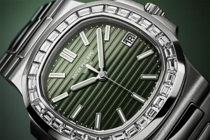 Sắc xanh lá lên ngôi tại sự kiện đồng hồ Watches & Wonders 2021