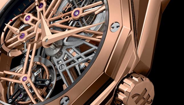 5 Mẫu đồng hồ Hublot có thiết kế Skeleton dành cho nam đẹp nhất