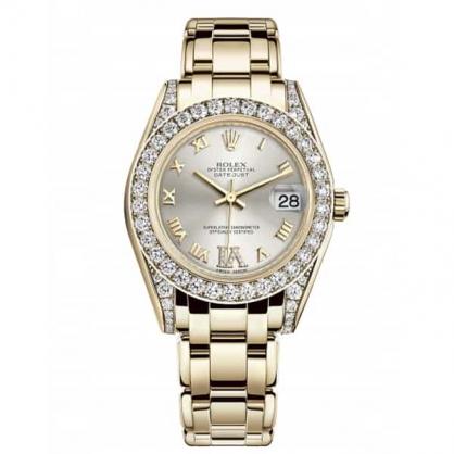 Rolex Pearlmaster 34 81158 – Đỉnh cao của sự tinh tế