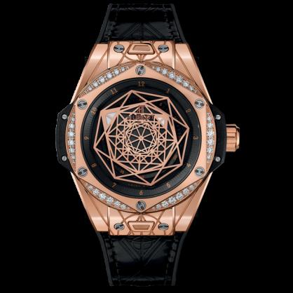 Sang Bleu King Gold Diamonds 39mm – Chiếc đồng hồ đáng mơ ước của cánh máy râu