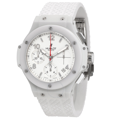 Review Hublot Big Bag Aspen White Dial Rubber