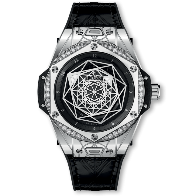 Review Đồng Hồ Big Bang Sang Bleu Steel Diamonds 39mm