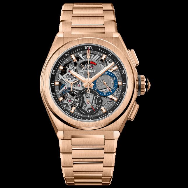 Zenith DEFY El Primero 21: Đồng hồ thiết kế Skeleton đẹp nhất năm 2020