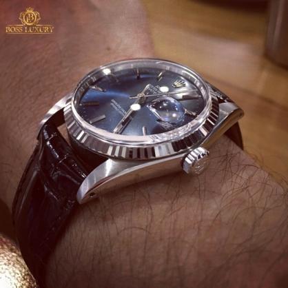 Chiêm ngưỡng bộ sưu tập Rolex dây da sang chảnh