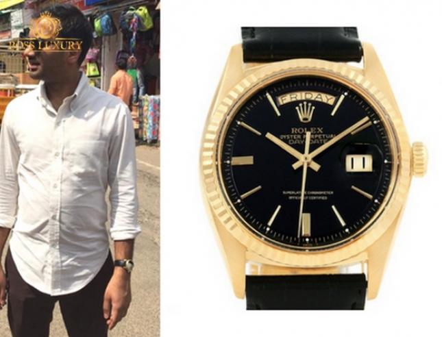 """Câu lạc bộ """"siêu sao"""" đam mê đồng hồ Rolex Day Date: những cái tên ấn tượng"""