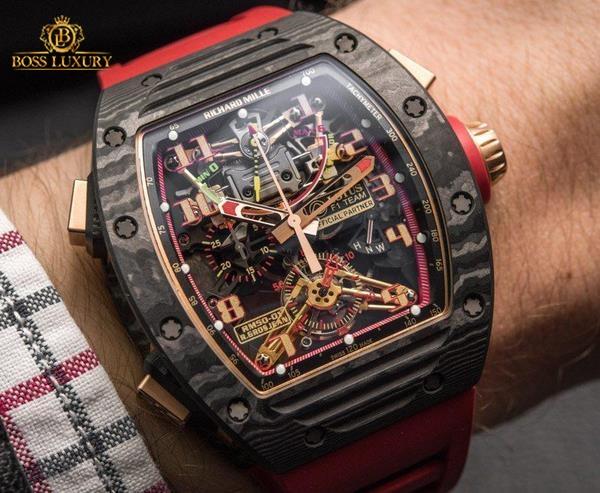 Điểm danh những chiếc đồng hồ Richard Mille bản giới hạn hiếm nhất