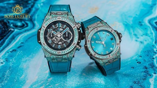 Đồng hồ Hublot màu xanh: vì sao Hublot ưu ái sắc xanh tuyệt mỹ?