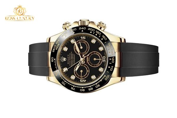 Ngắm những chiếc đồng hồ Rolex dây cao su Cosmograph Daytona sành điệu, trẻ trung